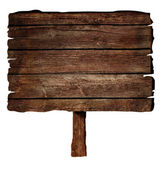 деревянный знак — Стоковое фото