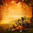 Stock Photo: Autumn design - Season fruit