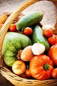 Frische Gemüsepflanzen — Stockfoto