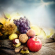 Autumn fruit — Stock Photo #13517361