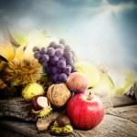 Autumn fruit — Stock Photo