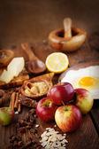 Bakken ingrediënten — Stockfoto