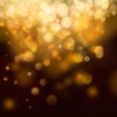 Zlatá slavnostní vánoční pozadí — Stock fotografie