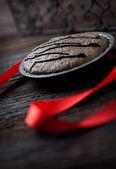 Chocolate souffle — Stock Photo