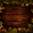 jul design - xmas krans — Stockfoto #15078423