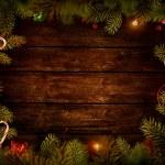 Christmas design - Xmas wreath — Stock Photo