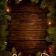Christmas design - Xmas wreath — Stock Photo #16321721