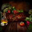 Food design - Fresh vegetables — Stock Photo #18744005