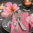 Stock Photo: Valentines day dinner