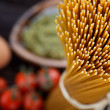 Pasta ingredients — Stock Photo #19778071