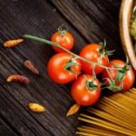 Pasta ingredients — Stock Photo #19778277