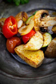 Roasted vegetables — Stock Photo