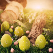 Stock Photo: Colorful Easter