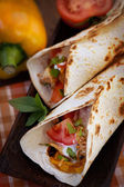 Fresh tortillas — Stock Photo