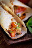 Frische tortillas — Stockfoto