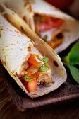 świeże tortilli — Zdjęcie stockowe