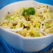 Vegetarian Leek risotto — Stock Photo #26280665