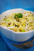 Vegetarian Leek risotto — Stockfoto