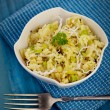 Leek risotto — Stock Photo