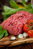 Minced meat — Stock Photo