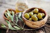 Fresh olives — Stock Photo