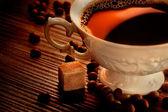 Café rústico — Foto de Stock