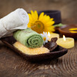 Spa setting — Stockfoto