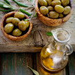 Fresh olives — Stock Photo