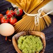 Pasta ingredients — Stock Photo #32431833
