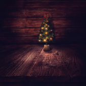 Christmas design - Christmas tree — Stock Photo