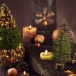 Christmas rustic decoration — Stock Photo #35650631