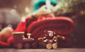 Christmas rustic decoration — Foto de Stock