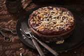 Chocolate pie — Foto Stock