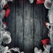 Valentines design - Love wreath — Stock Photo