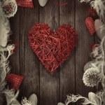 Valentines design - Love wreath — Stock Photo #38627251