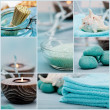 Spa purity collage — Stockfoto #40437955
