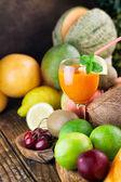 Variedade de frutas — Fotografia Stock