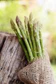 Asparagi freschi — Foto Stock