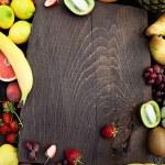 Fruit background. — Stock Photo #47029209