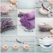 Lavender spa collage — Stock Photo #48832811