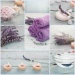 Lavender spa collage — Stock Photo #48832811