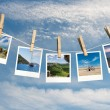 Destinations in pictures — Stock Photo
