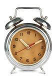 Antique Rusted Alarm Clock — Stock Photo