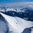 Stock Photo: Top of Alpes