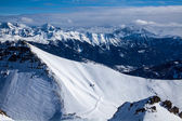 Top of Alpes — Stock Photo