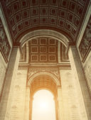 Arch of Triumph Inside View — Stock Photo