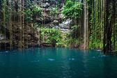 Cenote Ik-Kil, Mexico — Stock Photo