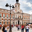 Casa de Correos in Puerta del Sol, Madrid, one of the famous lan — Stock Photo #12872531