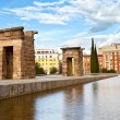 Debod Temple in Madrid - Stock Photo