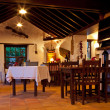 Canarian Rural Restaurant Interior - Stock Photo